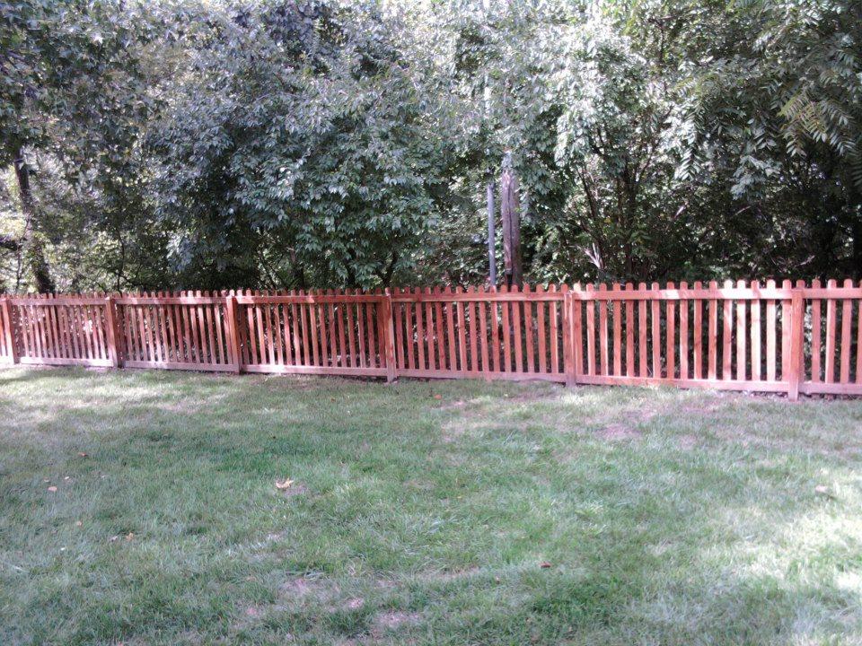 Red Cedar Fence ~ Allstar fence portfolio